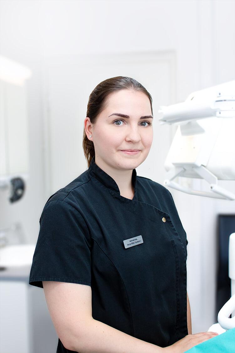 Hammashoitaja Marja-Riitta Hautanen