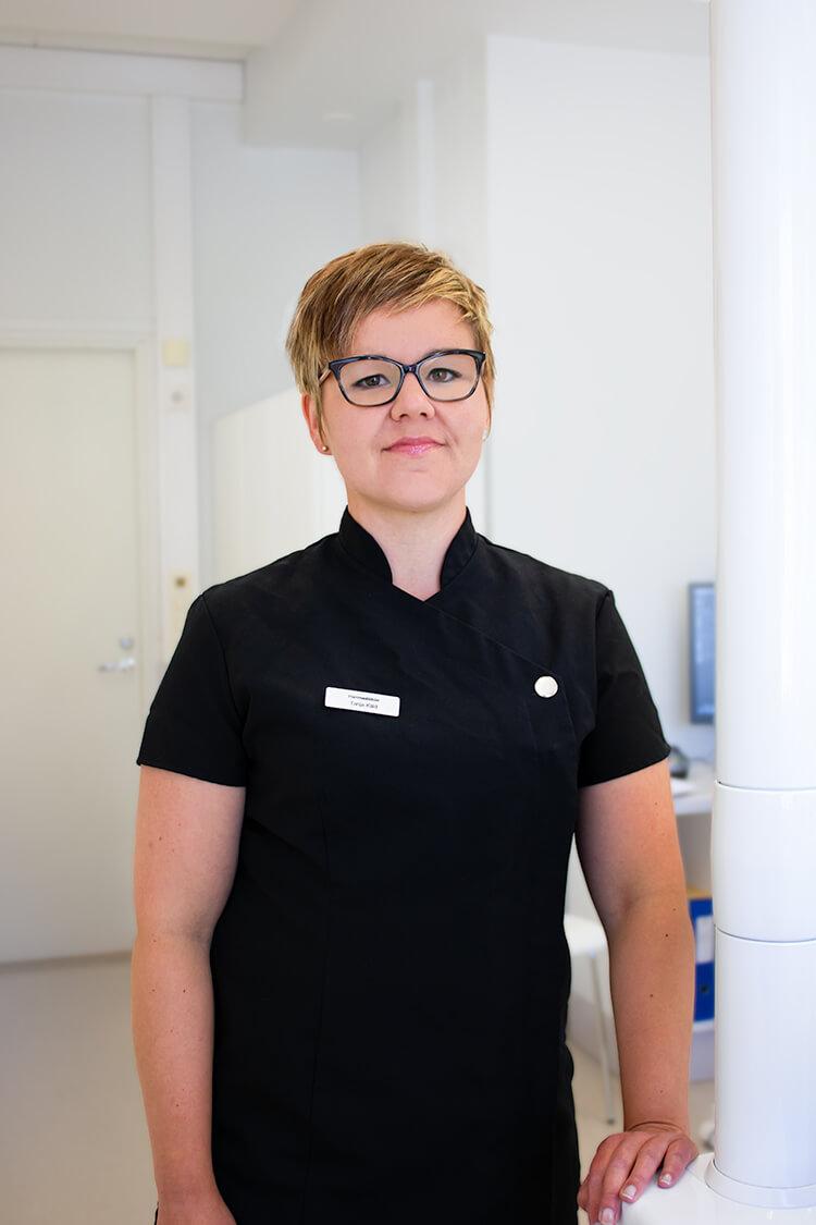 Hammaslääkäri Tanja Käld
