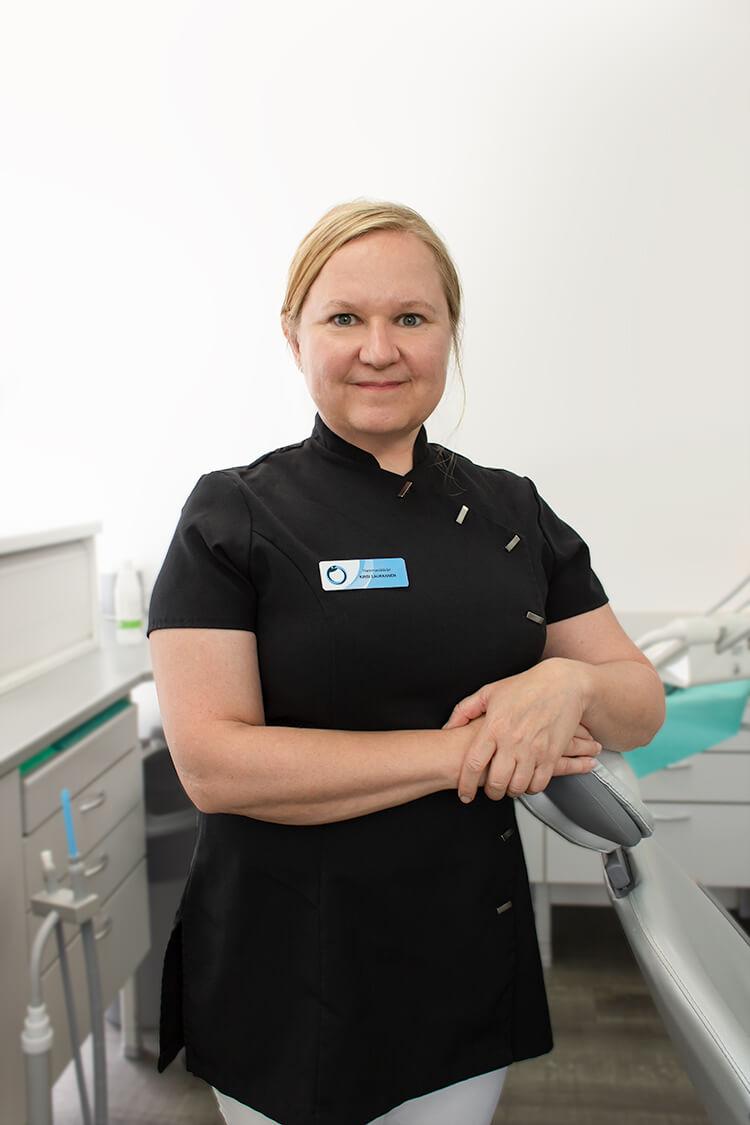 Hammaslääkäri Kirsi Laukkanen